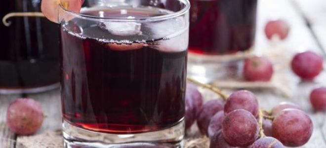 Домашняя настойка из винограда