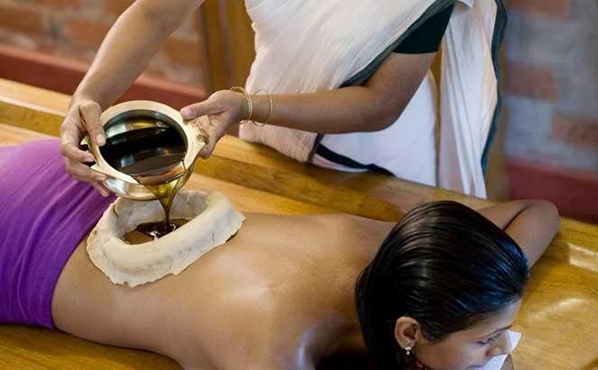Аюрведический массаж кати васти