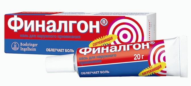 Мазь финалгон