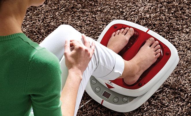 Вибрационный массажер для ног