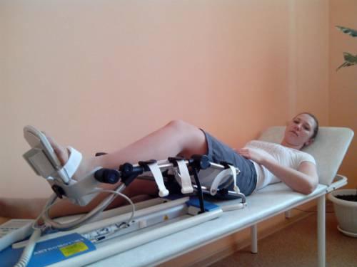 Артромот для разработки коленного сустава