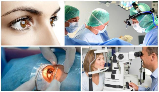 диагностика дистрофии сетчатки
