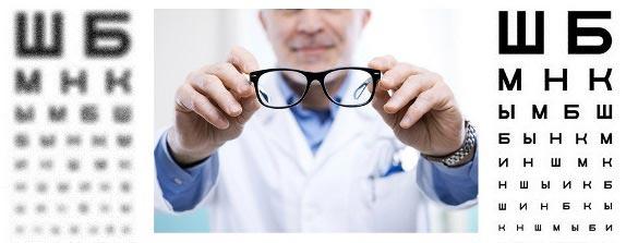 как проверить зрение по таблице сивцева