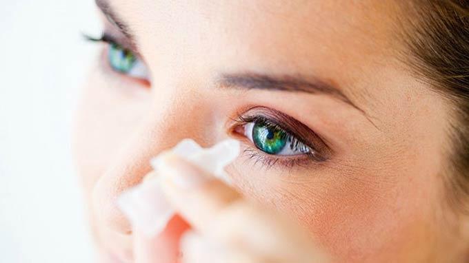 капли при повреждении роговицы глаза