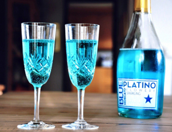 Голубое вино необычный напиток от испанских виноделов