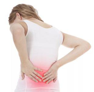 Причины боли в пояснице у женщин