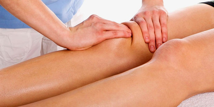 Лечебный массаж при боли в коленях