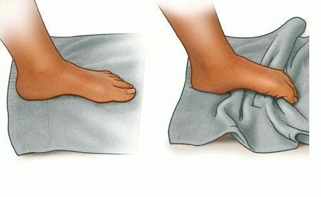 Комплекс базовых упражнений для укрепления голеностопа