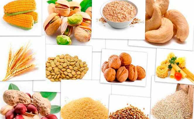 Продукты с витаминами В6 и В1