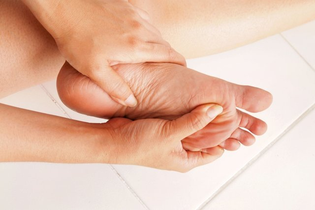 Онемение ног при сахарном диабете