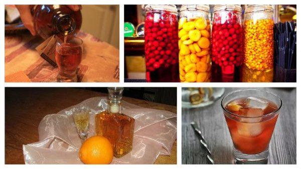 облагораживание ягодами и фруктами