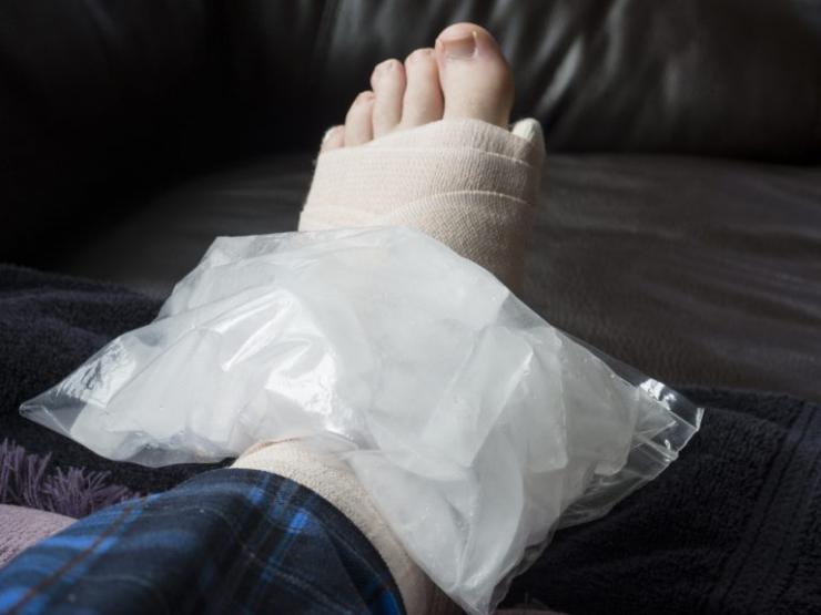 Реабилитационные мероприятия после перелома лодыжки