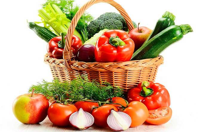Овощи в диете при уратных камнях
