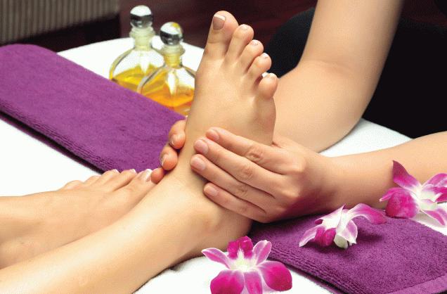 Техника проведения и основные приемы массажа ног
