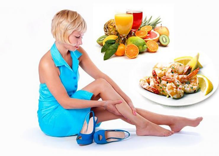 Как правильно питаться при отеках ног?